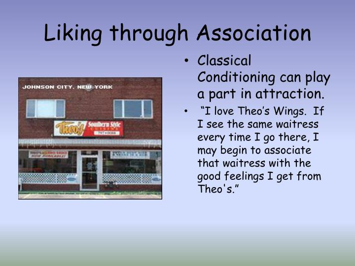 Liking through Association