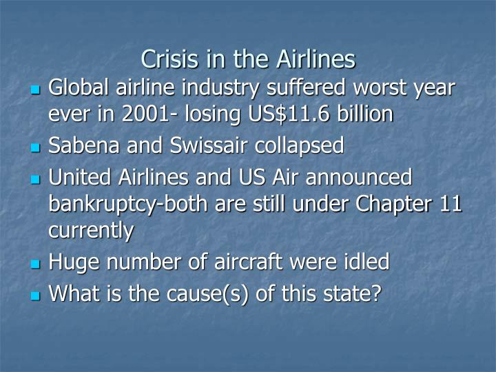Crisis in the Airlines