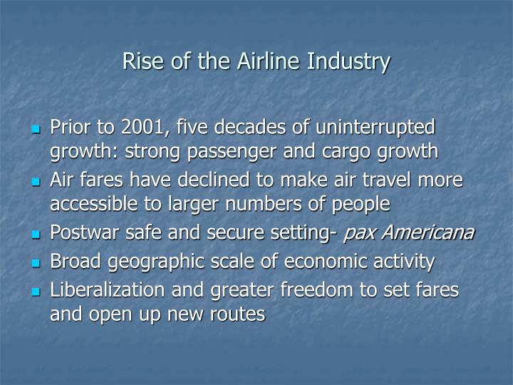 Rise of the Airline Industry