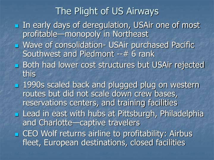 The Plight of US Airways