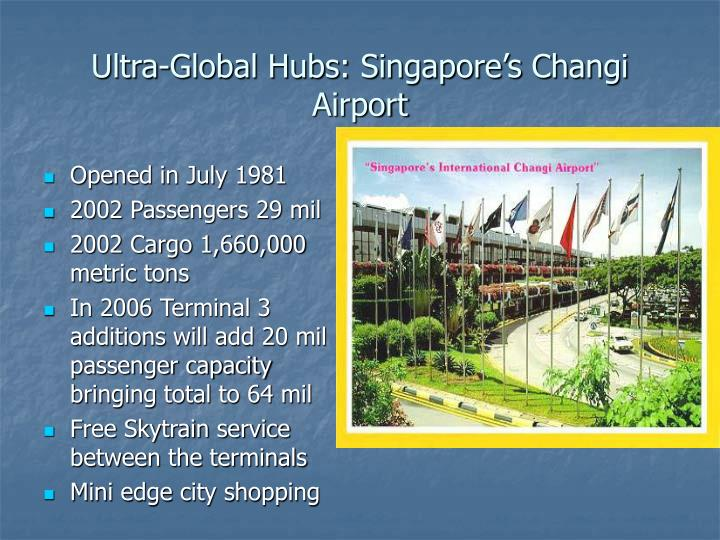 Ultra-Global Hubs: Singapore's Changi