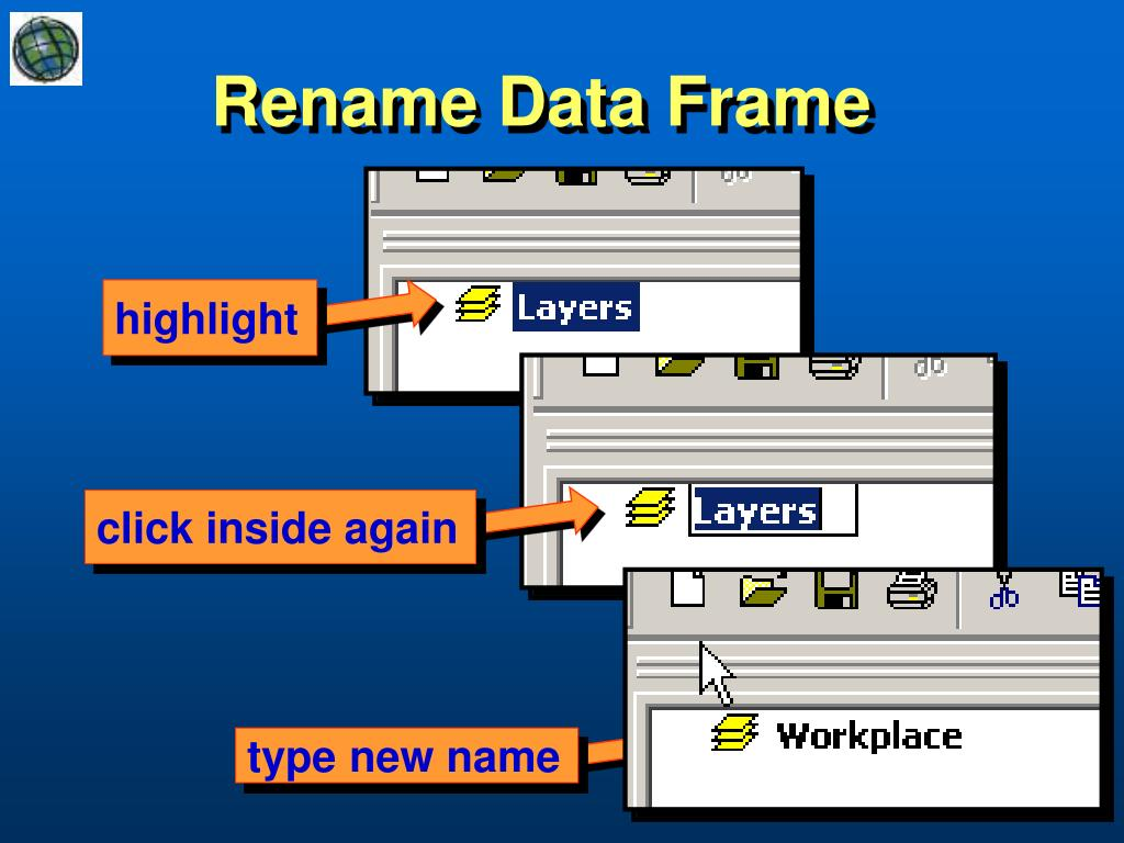 Rename Data Frame