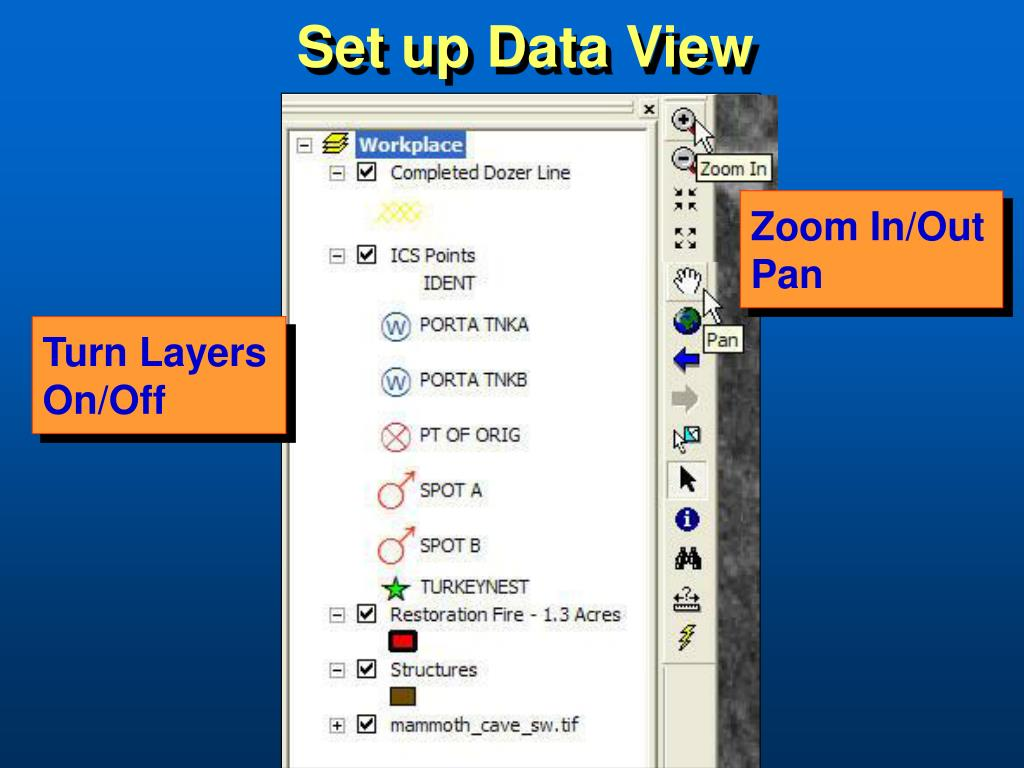Set up Data View