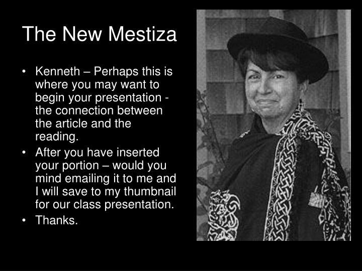The New Mestiza