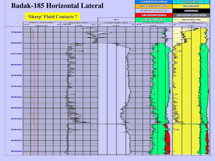 Badak-185 Horizontal Lateral