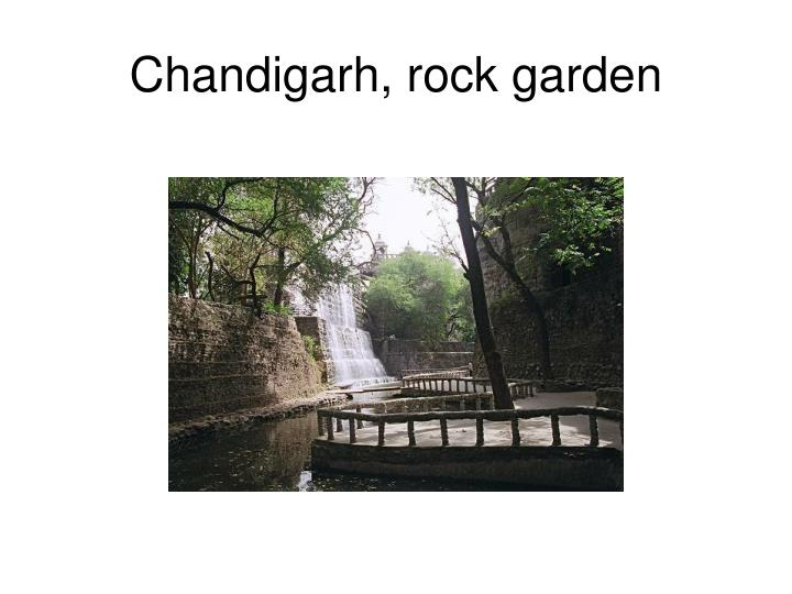 Chandigarh rock garden
