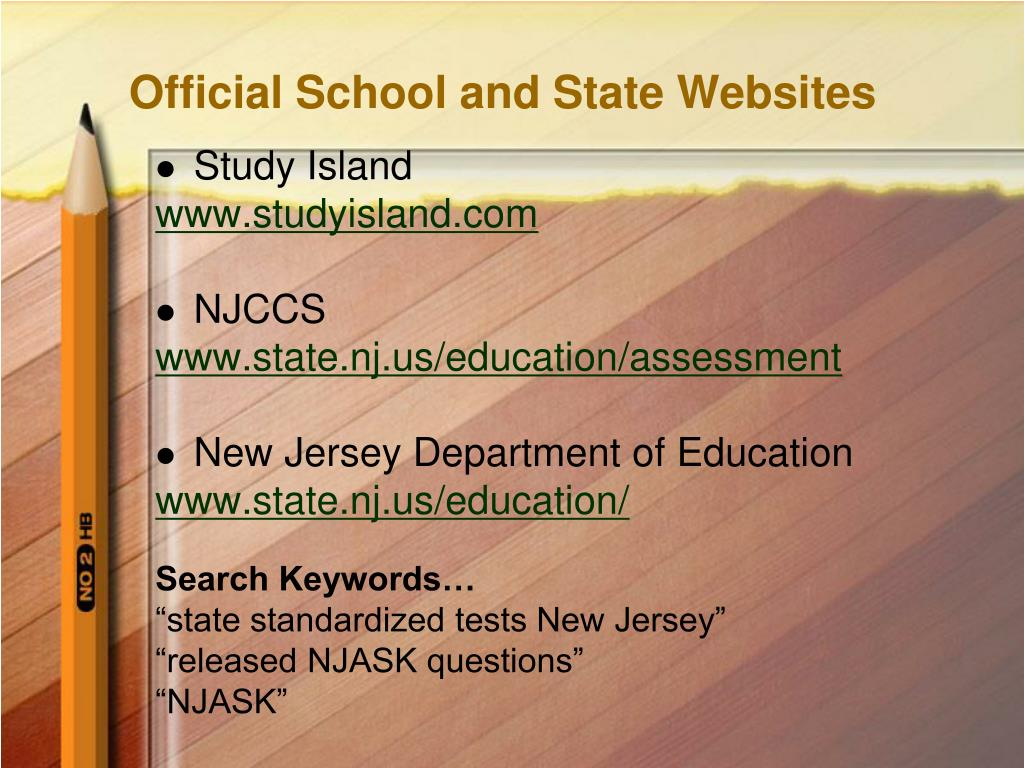 Official School and State Websites
