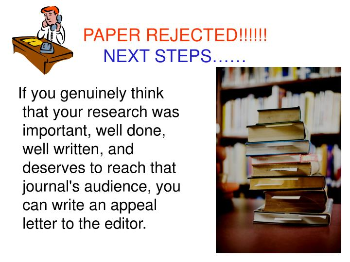 PAPER REJECTED!!!!!!