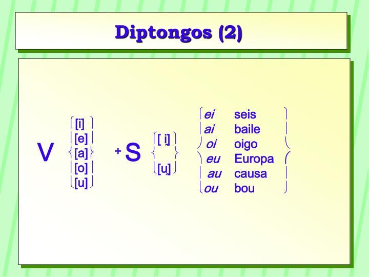 Diptongos (2)