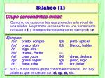 silabeo 1