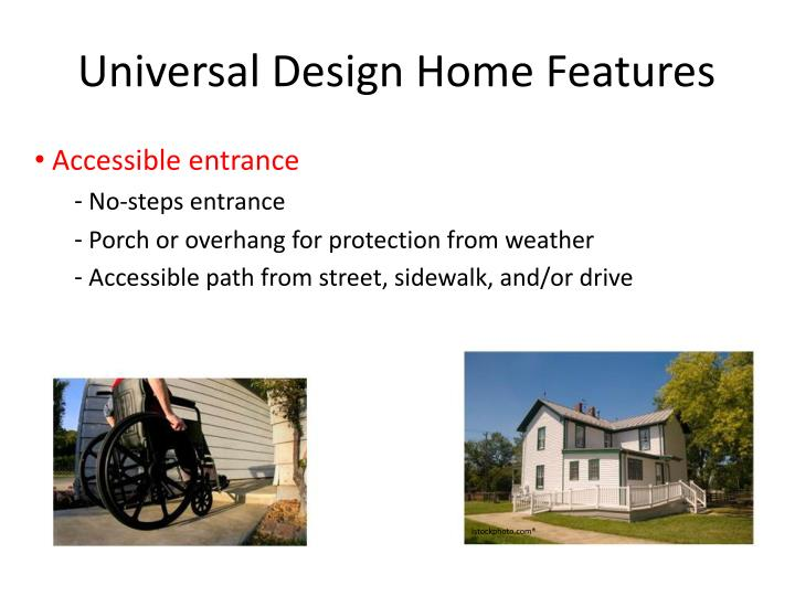 Universal Design Home Features