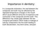 importance in dentistry3