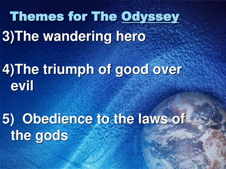 Themes for the odyssey1