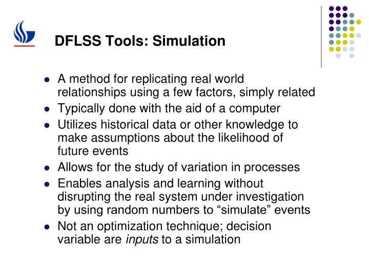 DFLSS Tools: Simulation