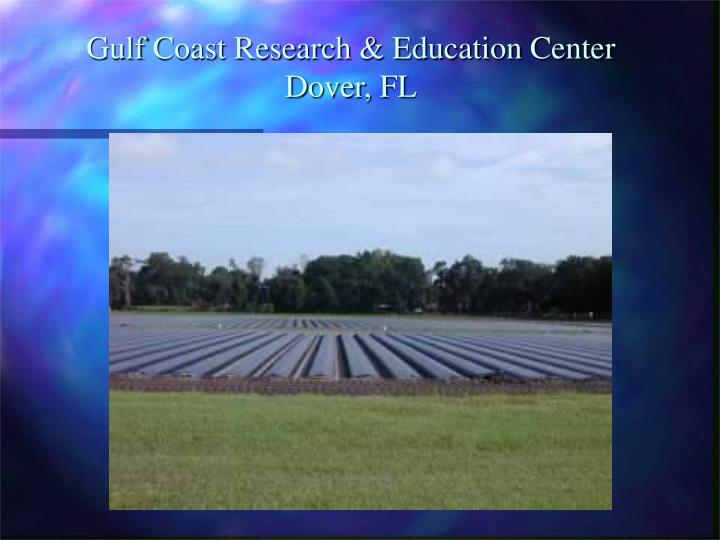 Gulf coast research education center dover fl