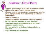 atkinson v city of pierre
