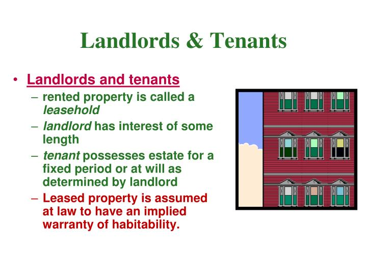 Landlords & Tenants