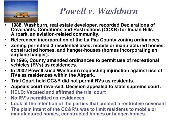 Powell v. Washburn