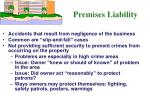 premises liability1