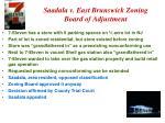 saadala v east brunswick zoning board of adjustment
