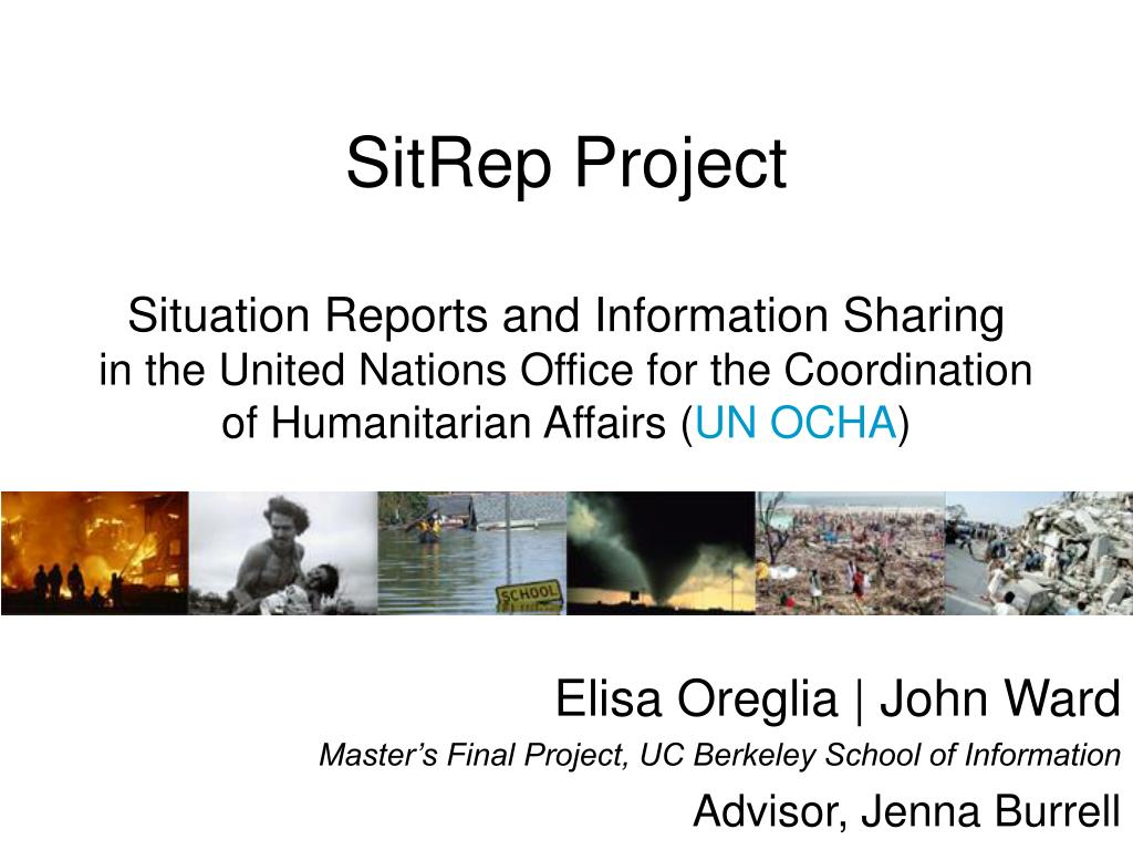 SitRep Project