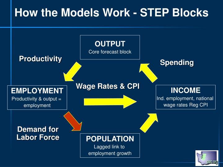 How the Models Work - STEP Blocks