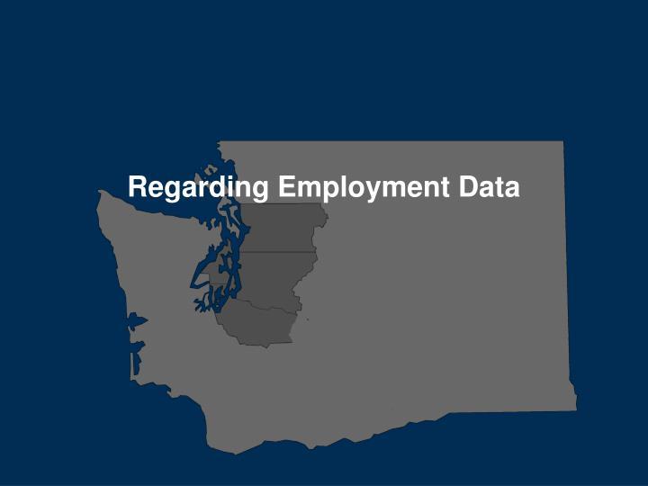 Regarding Employment Data