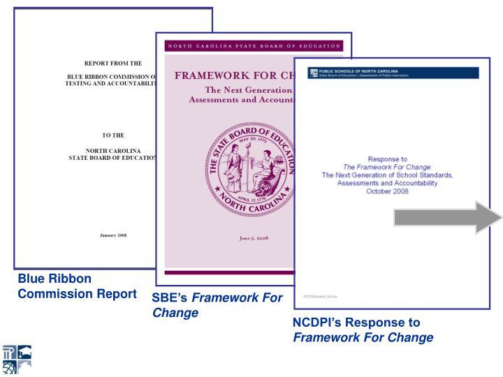 Blue Ribbon Commission Report