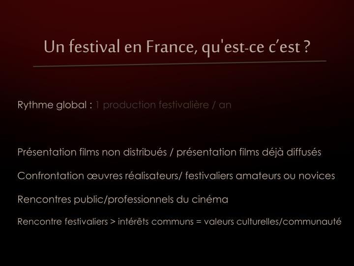 Un festival en
