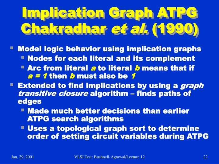 Implication Graph ATPG