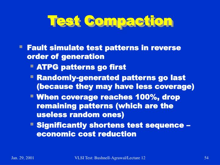 Test Compaction