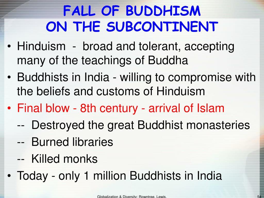 FALL OF BUDDHISM