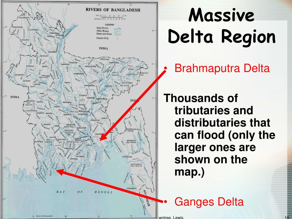 Massive Delta Region
