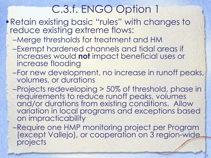 C.3.f. ENGO Option 1