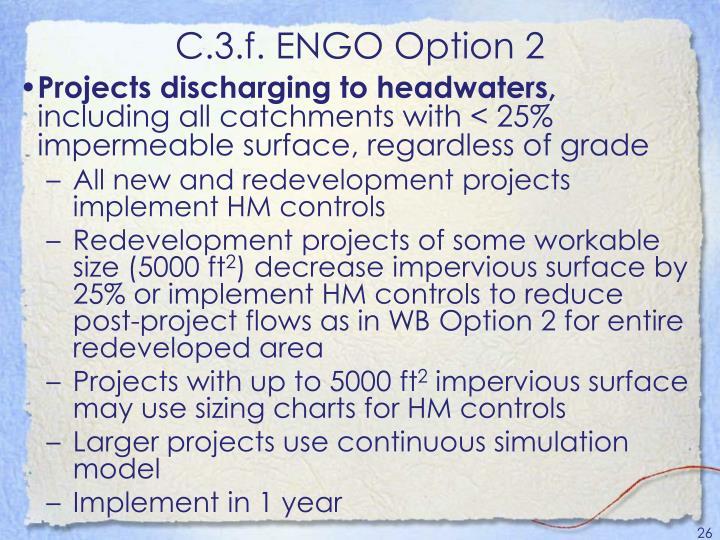 C.3.f. ENGO Option 2