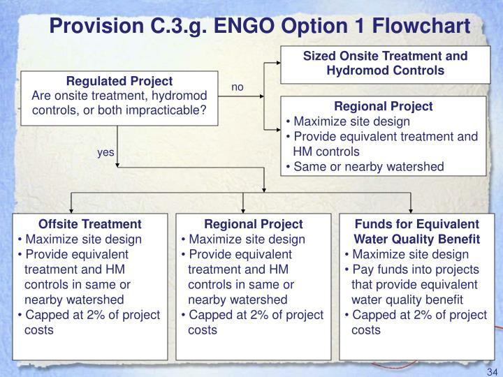 Provision C.3.g. ENGO Option 1 Flowchart