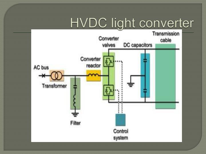 HVDC light converter