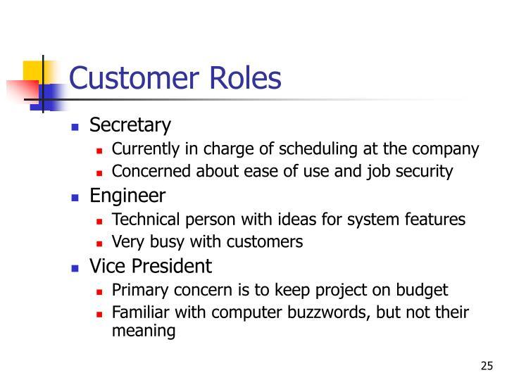 Customer Roles