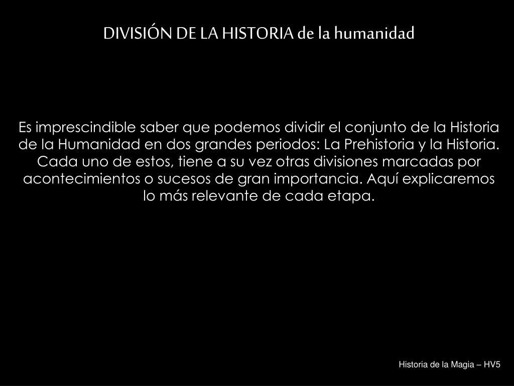 Historia de la Magia – HV5