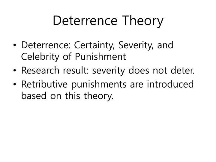 sociology labeling and deterrence Free college essay sociology - labeling and deterrence reflection paper #2 how to deal with juvenile offenders is controversial in the 1960's and 1970's, sociologists warned treating.