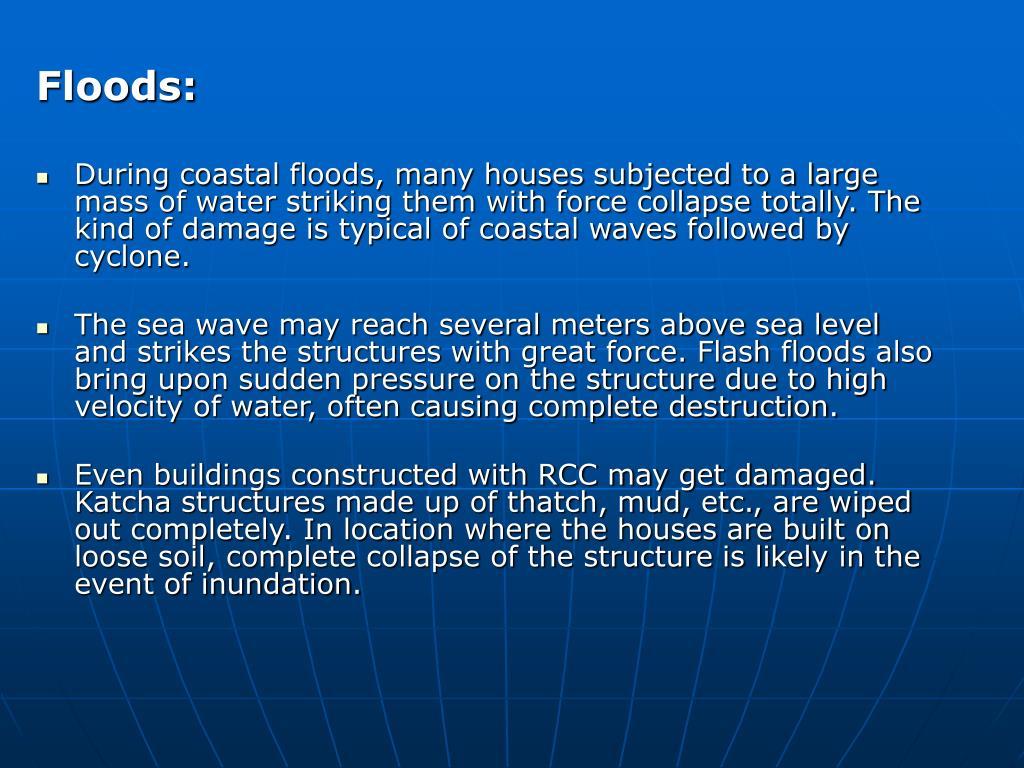 Floods: