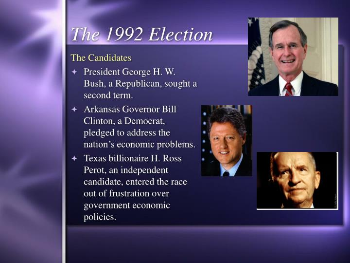 The 1992 election