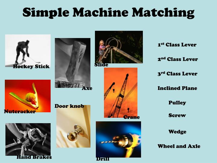 Simple machine matching