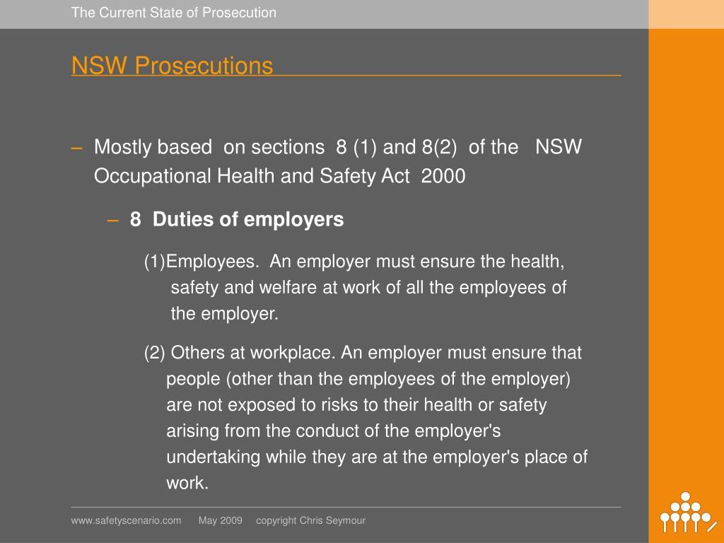 NSW Prosecutions