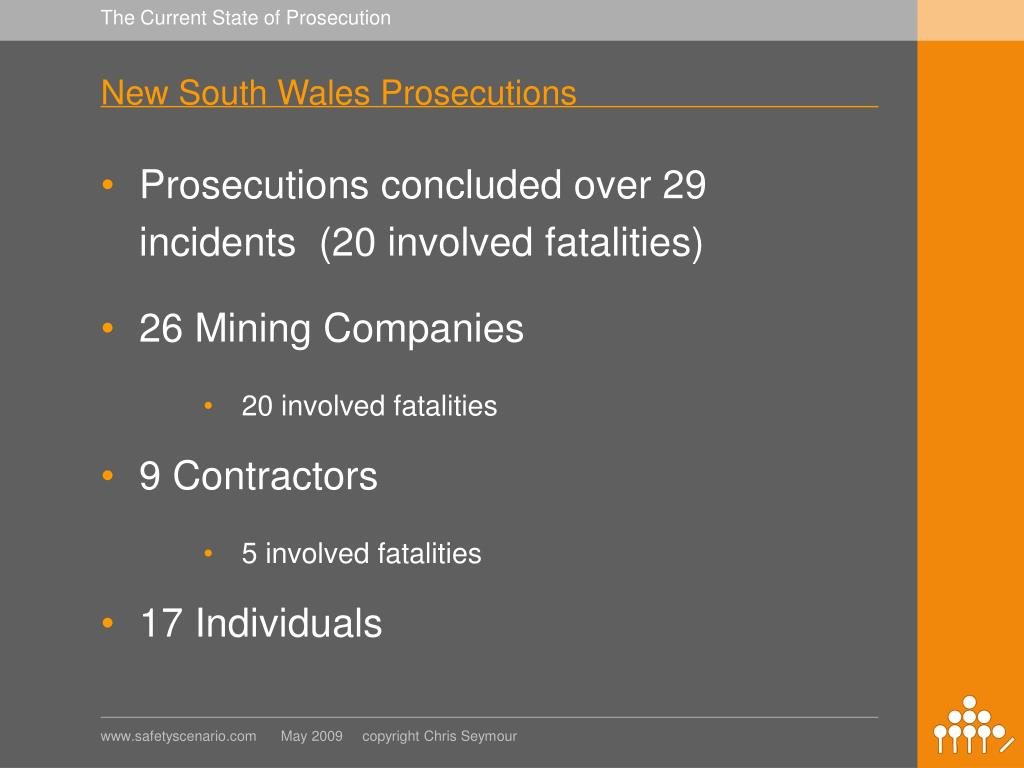 New South Wales Prosecutions