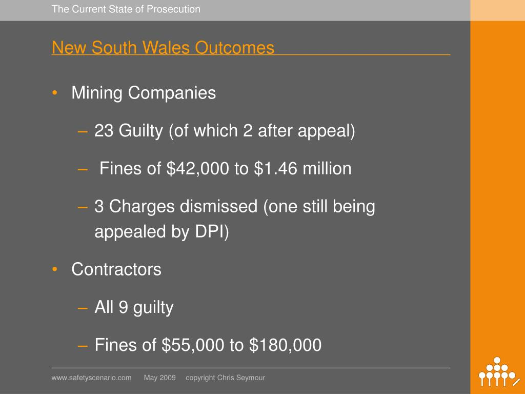 New South Wales Outcomes