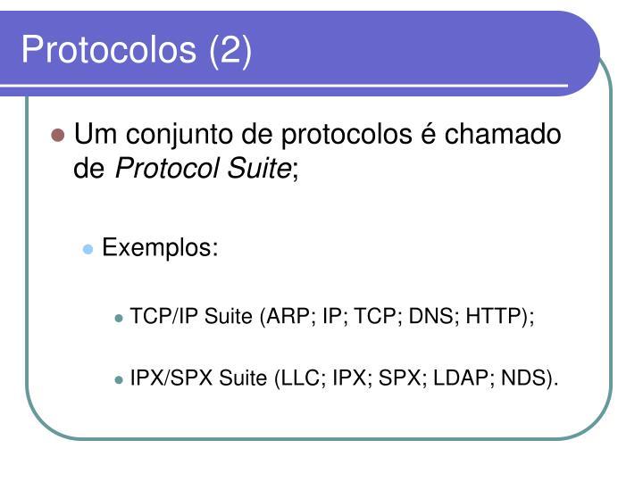Protocolos (2)