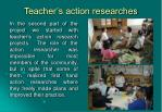 teacher s action researches