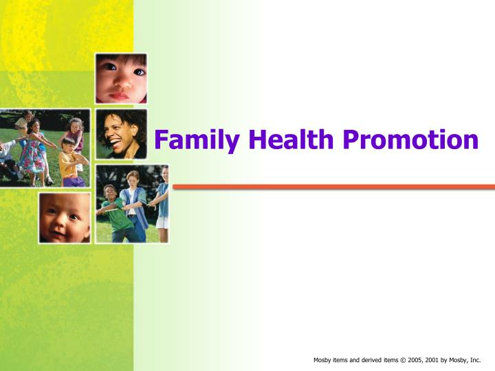 family health promotion 1 aafp reprint no 267 recommended curriculum guidelines for family medicine residents health promotion and disease prevention this document was endorsed by the.