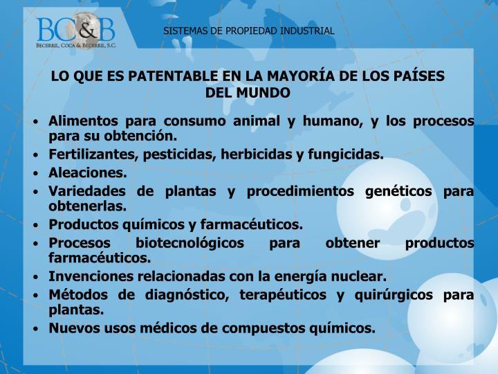 Alimentos para consumo animal y humano, y los procesos para su obtención.